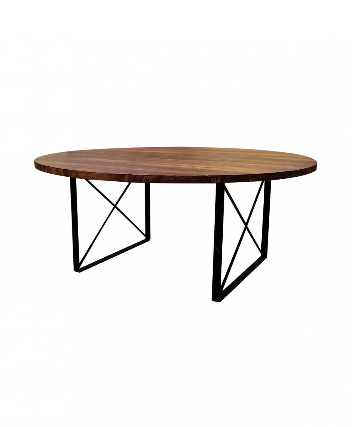 Mesa de madera redonda - Mesa de madera redonda ...